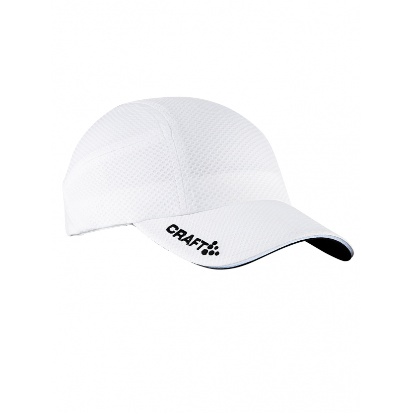 Беговая кепка Craft Running Cap (арт. 1900095) - белый-1900