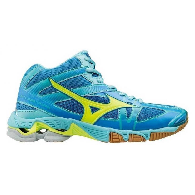Кроссовки волейбольные MIZUNO WAVE BOLT 6 MID женские V1GC1765 купить в  интернет-магазине Sportkult 093bedfd5a5