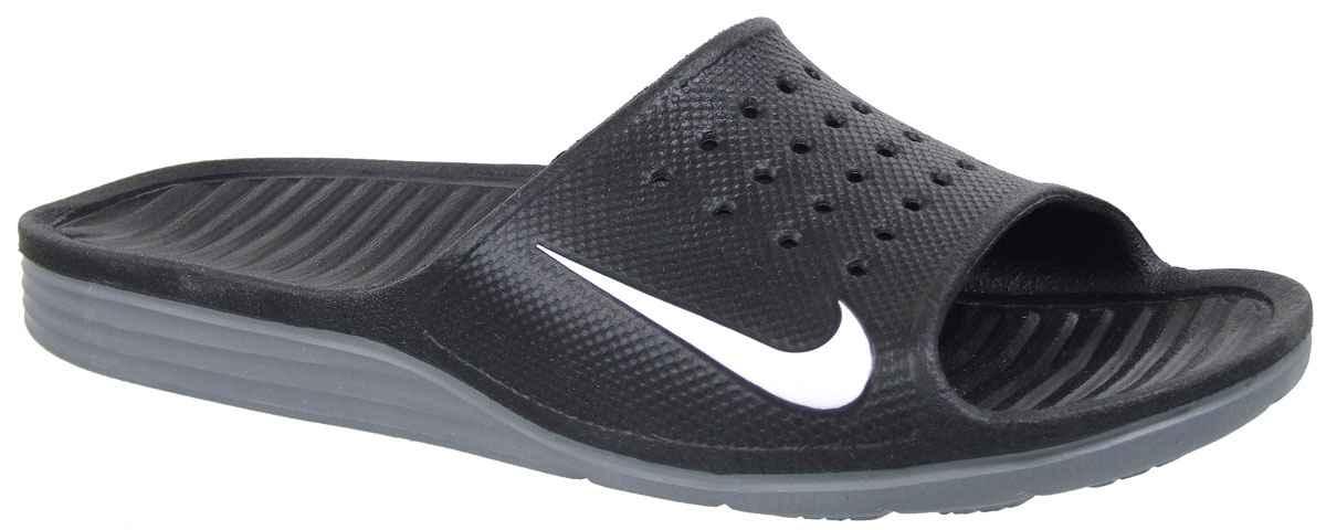 ecd30d62 Шлепанцы Nike Benassi Solarsoft Slide 386163 купить в интернет ...
