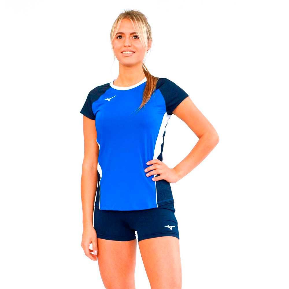 515f51a7 Футболка волейбольная Mizuno Premium High-Kyu Tee HIQ женская ...